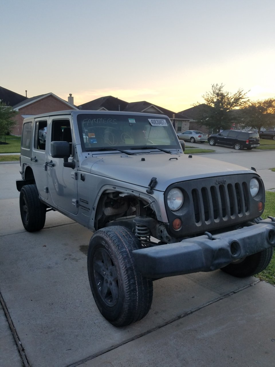 2013 Jku 35 S Without Rubbing Jeeps Net Forum