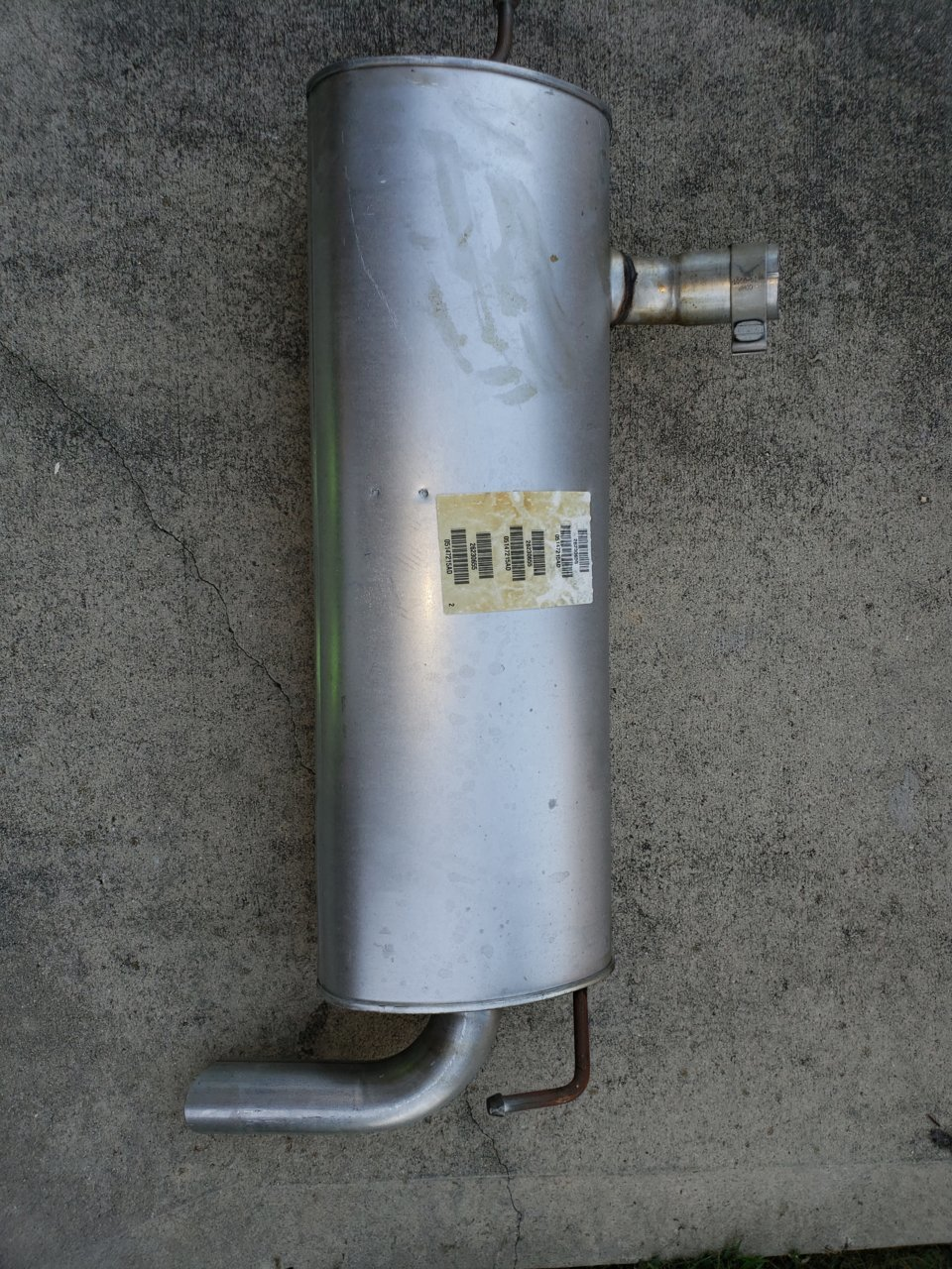 Jeep Jk Muffler >> FS: 2014 Jeep Wrangler Muffler for Sale | Jeeps.net Forum