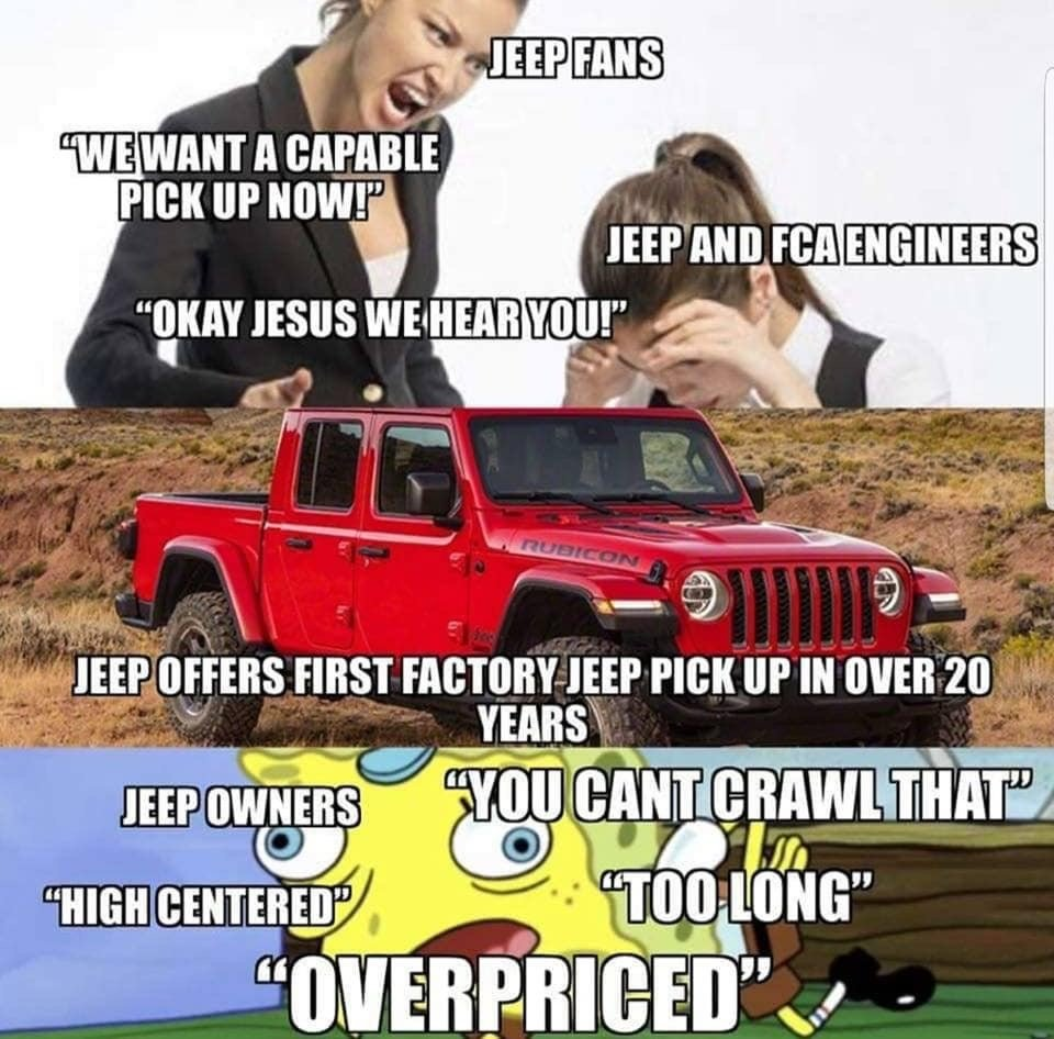 Funny Jeep Memes Page 17 Jeeps Net Forum