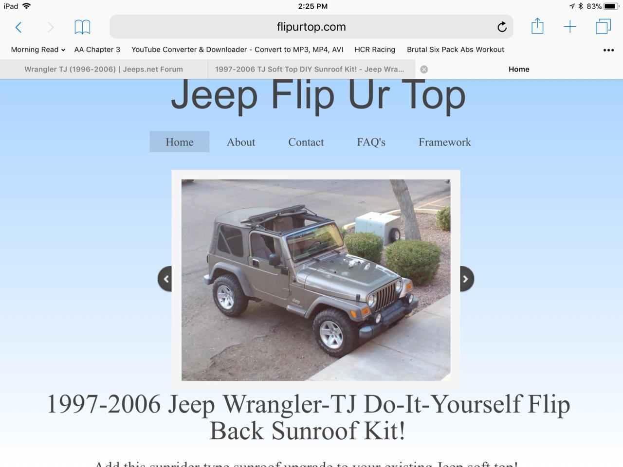 Flip UR Top bought one | Jeeps.net Forum