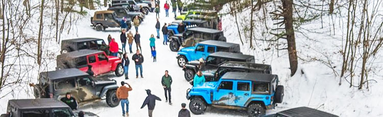 Jeep winter meetup in Arizona